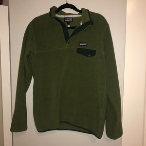 PATAGONIA 🌲 green synchilla pullover